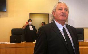 Henri Jibrayel lors de son procès en 2020