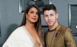 L'actrice Priyanka Chopra et son mari, le chanteur Nick Jonas