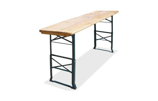 Table de jardin Deuba