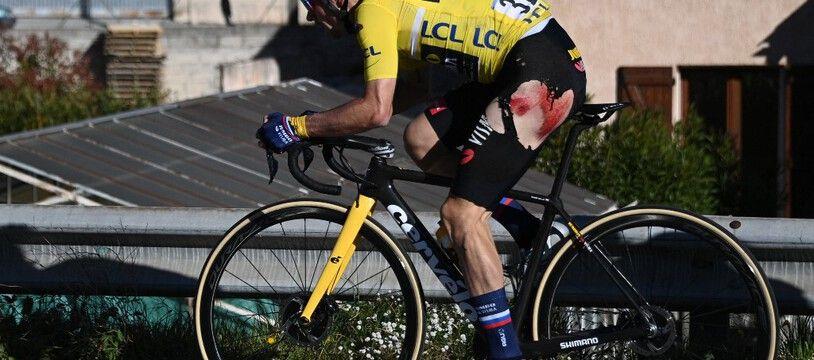Primoz Roglic a tout perdu lors de la dernière étape de Paris-Nice.