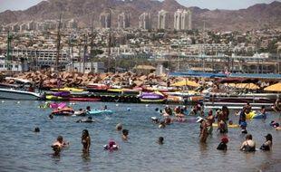 Une roquette tirée à partir du Sinaï égyptien a explosé dans la nuit de mercredi à jeudi dans la station balnéaire d'Eilat (sud d'Israël), sans faire de victime