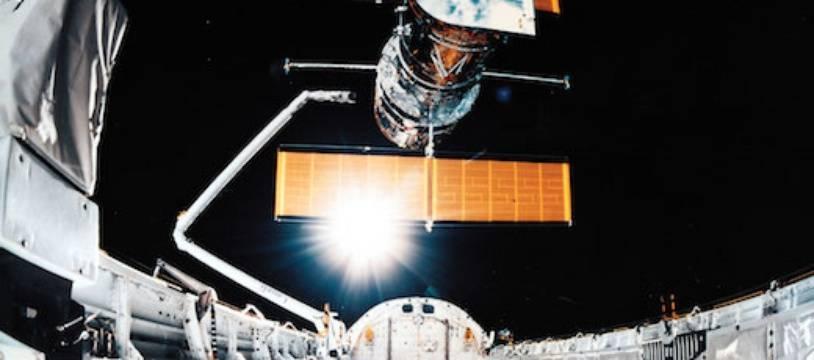 Hubble placé sur son orbite le 25 avril 1990.