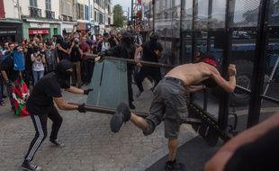 Manifestation à Bayonne durant le G7 à Biarritz