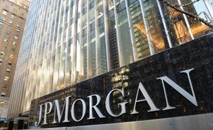 Le siège de la banque JPMorgan Chase, à New York, le 12 décembre 2013