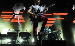 Muse sur scène à Los Angeles, le 30 juillet 2011.