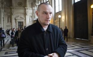 Marc Machin, le 19 décembre 2012, lors de son procès en révision au tribunal de grande instance de Paris.