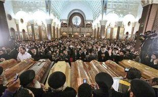 L'attentat devant l'église copte d'Al Kidissine a fait 21 morts et 97 blessés.