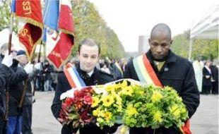 Au cimetière de Montreuil, hier.