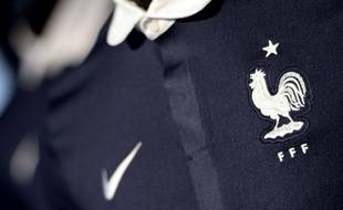 Le maillot de l'équipe de France de foot pour la Coupe du monde au Brésil