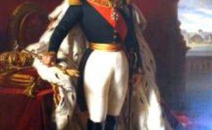 Tableau de Napoléon III d'après Franz Xavier Winterhaler.