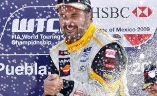 Yvan Muller, le 22 mars dernier, lors de la manche mexicaine du WTCC.