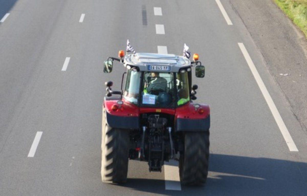 Un tracteur sur la route (illustration) – C. Allain / APEI / 20 Minutes
