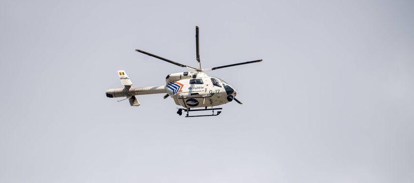 Haute-Savoie : Ils sortent indemnes d'un accident d'hélicoptère (illustration).