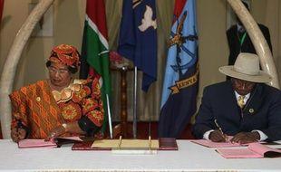 Kinshasa et les rebelles du M23 ont entériné formellement à Nairobi jeudi la fin de leur conflit dans l'est de la République démocratique du Congo, plus d'un mois après la défaite militaire de la rébellion.