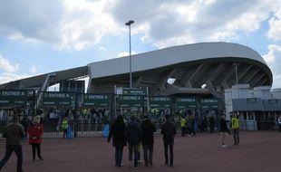 Les abords du stade de la Beaujoire.