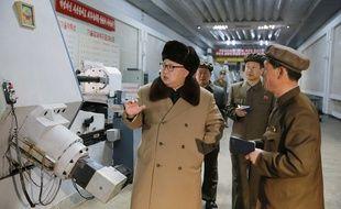 Le président nord-coréen Kim Jong-un sur une photo non datée diffusée par l'agence officielle KCNA.