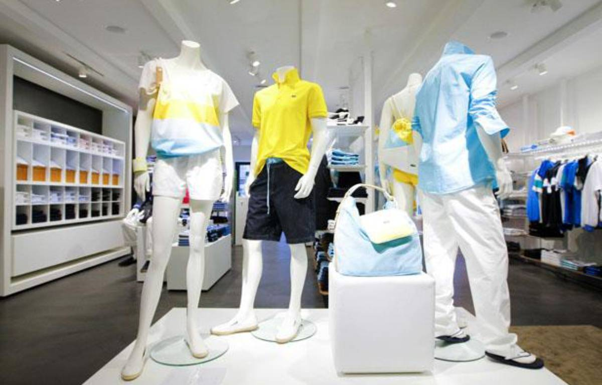 Une boutique Lacoste – AGENCY PEOPLE IMAGE/SIPA
