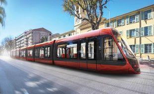 La ligne 2 du tram sera ocre rouge.