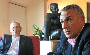 Charles Gautier et Bertrand Affilé.