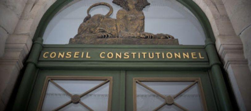 Le Conseil constitutionnel à Paris. (illustration)