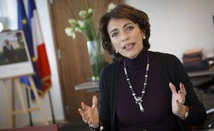 Marisol Touraine, ministre des Affaires sociales et de la Santé, le 17 octobre 2012, dans son bureau du 14, avenue Duquesne, à Paris.