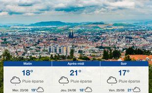 Météo Clermont-Ferrand: Prévisions du mardi 22 juin 2021