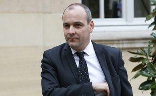 Le secrétaire général de la CFDT Laurent Berger le 14 mars 2016 à Matignon