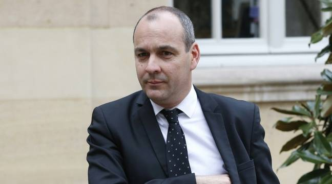 Le secrétaire général de la CFDT Laurent Berger le 14 mars 2016 à Matignon – PATRICK KOVARIK AFP