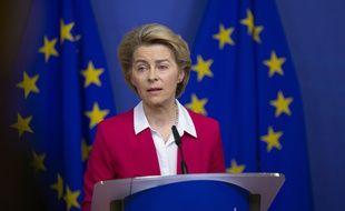 Ursula von der Leyen est présidente de la Commission européenne depuis le 1er décembre 2019.