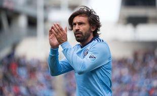 Andrea Pirlo a disputé le dernier match de sa carrière le 5 novembre 2017, avec le New York City FC face à Colombus en demi-finale de la conférence Est de MLS.