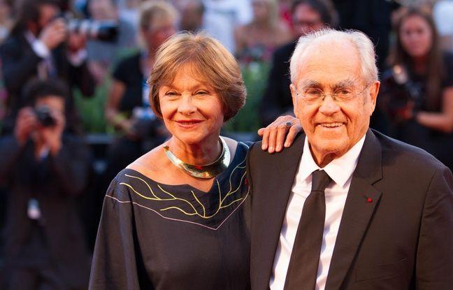 Macha Meril and Michel Legrand attends La Rancon De La Gloire Premiere during the 71th Venice Film Festival. Venice, Italia - 28/08/2014/COLLET_113505/Credit:COLLET GUILLAUME/SIPA/1408291219