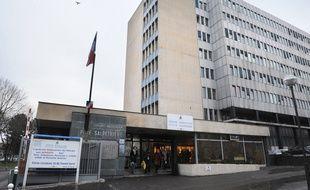 L'hôpital de la Pitié-Salpêtrière à Paris, le 12 janvier 2009.
