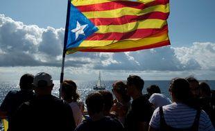 Image d'illustration du drapeau catalan.