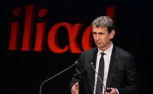 Le directeur général d'Iliad Maxime Lombardini, le 10 mars 2016 à Paris