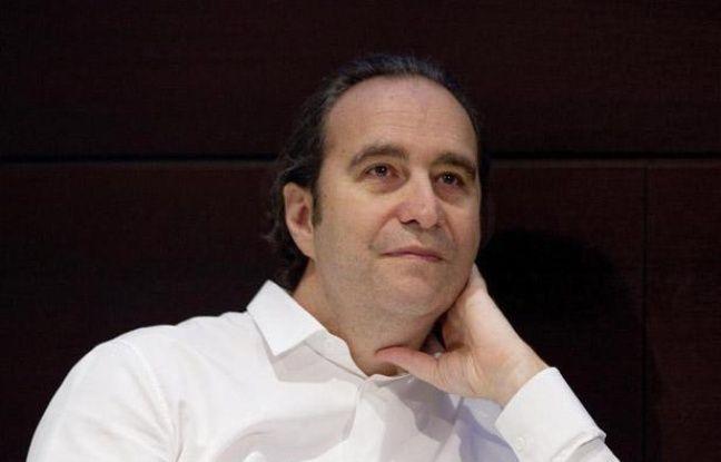 Xavier Niel, le patron d'Iliad, maison-mère de Free, à Paris le 31 août 2012.
