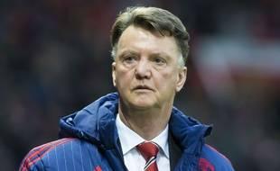 Le Néerlandais Louis van Gaal lors du match entre Manchester United et Norwich le 19 décembre 2015.