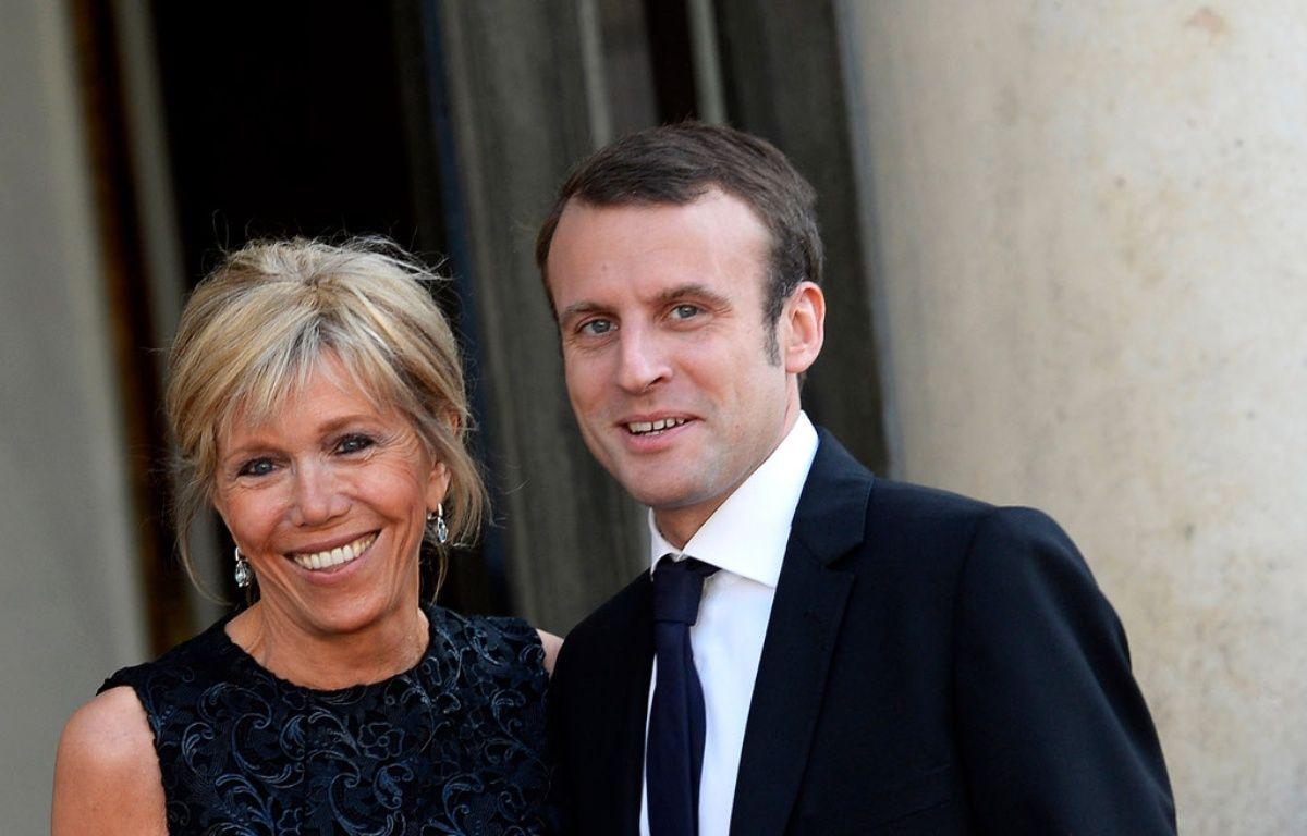 Brigitte Trogneux et Emmanuel Macron – VISUAL