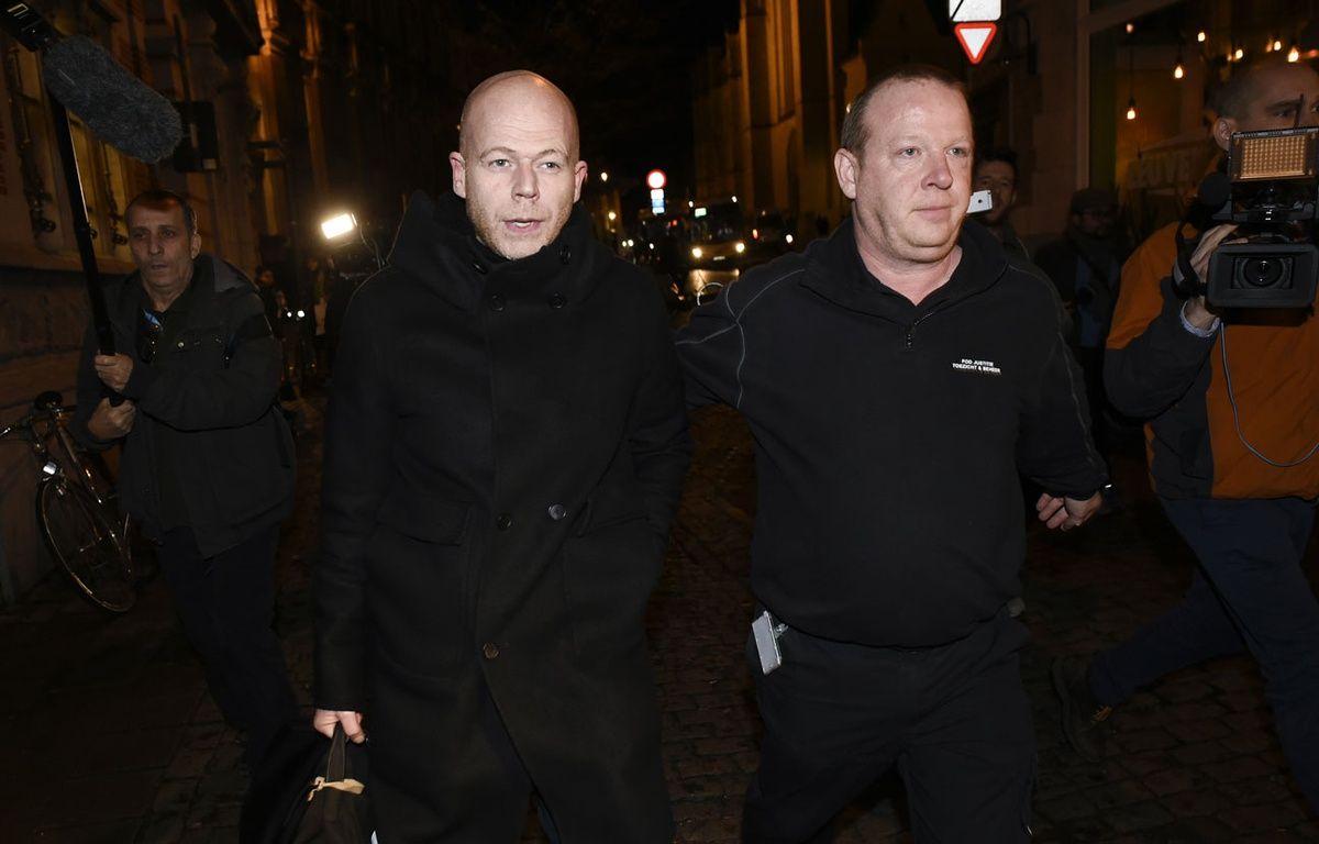 Sven Mary à Leuven, le 14 janvier 2016. – JOHN THYS / AFP
