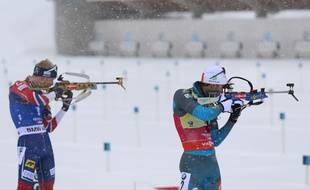 Martin Fourcade et Johannes Boe se livrent un beau duel depuis le début de la saison de biathlon.