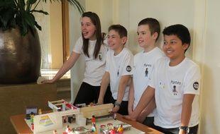 Ces élèves de sixième du Havre ont imaginé une cantine qui apprend à manger équilibré» Un projet récompensé par le concours Sciences Factor mercredi 4 février 2014.