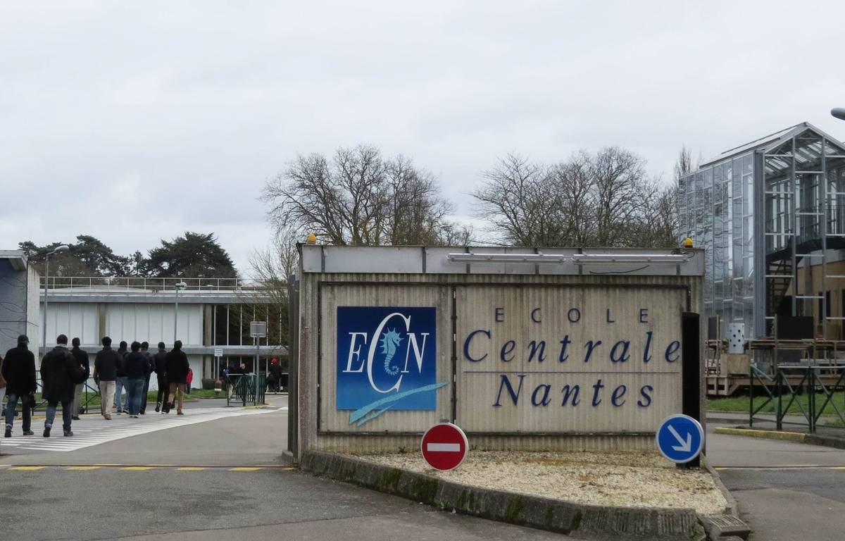 L'école Centrale de Nantes – F. Brenon/ 20 Minutes