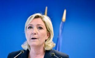 Marine Le Pen à Nanterre le 16 juillet 2016