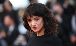 Asia Argento arrive le 19 mai 2018 à Cannes pour présenter «L'homme qui a tué Don Quichotte».