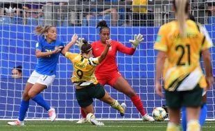 Australie-Brésil lors de la Coupe du monde féminine, le 13 juin 2019 à Montpellier.