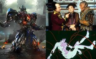 Transformers, Babylon 5 et Ghost in The Shell.