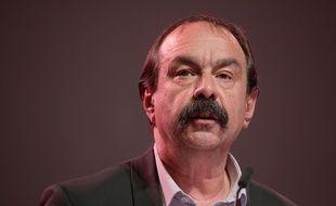 Philippe Martinez à Dijon le 13 mai, lors du 52e congrès de la CGT.