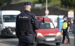(Illustration) Un policier en Espagne