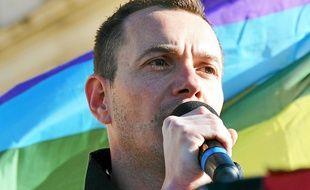 Vincent-Boileau Autin, premier marié homosexuel de France, était candidat sur la 1ère circonscription des Français de l'étranger (Archives).