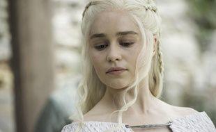Emilia Clarke alias Daenerys Targaryen dans la saison 5 de «Game of Thrones»