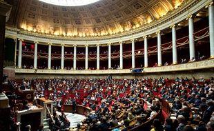 Vue générale de l'Assemblée nationale le 26 septembre 2017.